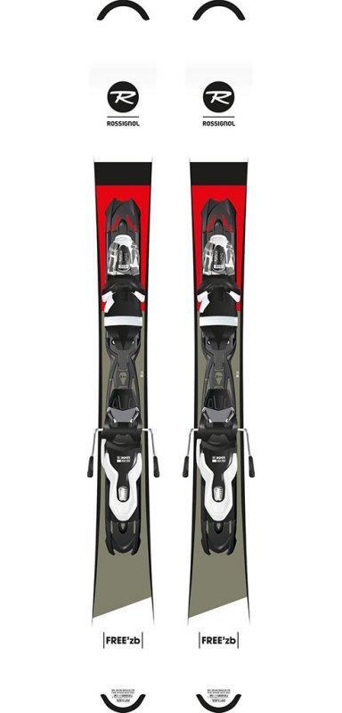 ROSSIGNOL Free'ZB + fix Xpress 10 / mini ski